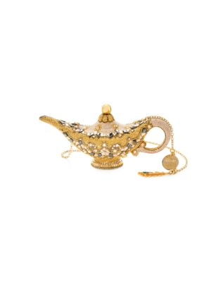 Judith Leiber Couture Genie Lamp Crystal Clutch