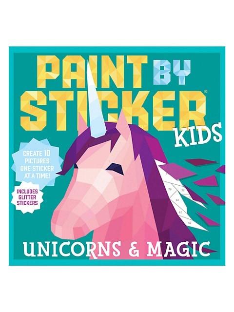 Paint By Sticker Kids: Unicorn & Magic