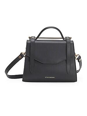 Strathberry - Mini Allegro Leather Satchel