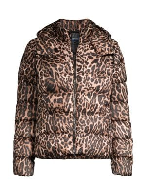 Magnificent Leopard Down Puffer Jacket Ibusinesslaw Wood Chair Design Ideas Ibusinesslaworg