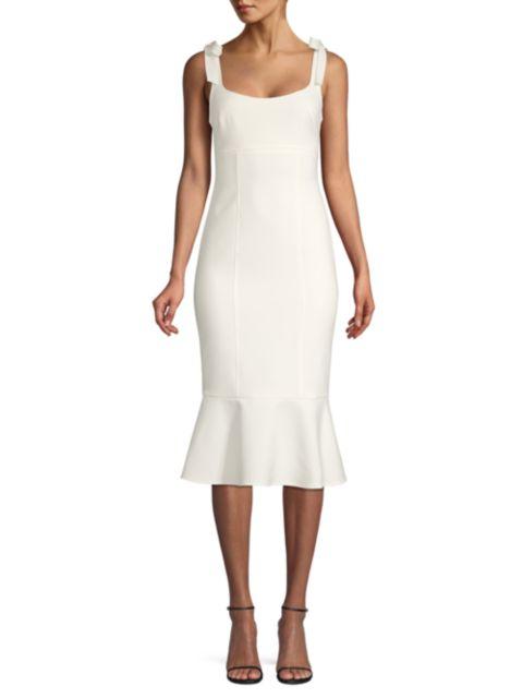 Likely Ellery Fluted Hem Midi Dress   SaksFifthAvenue