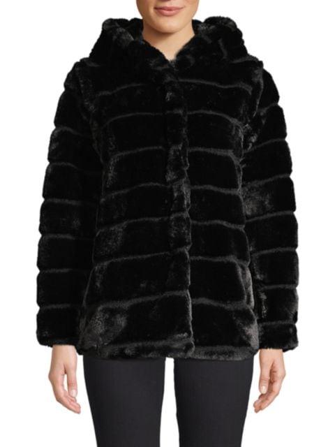Apparis Goldie Hooded Faux Fur Jacket | SaksFifthAvenue