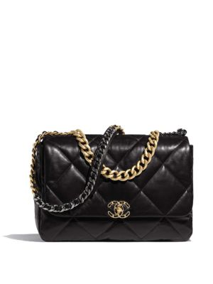 order official supplier exclusive shoes CHANEL 19 LARGE FLAP BAG