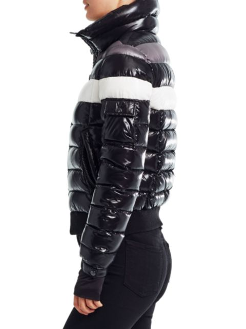 Sam. Starburst Single Stripe Down Nylon Puffer Jacket | SaksFifthAvenue