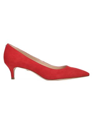 Sam Edelman Shoes Dori Suede Kitten Heels