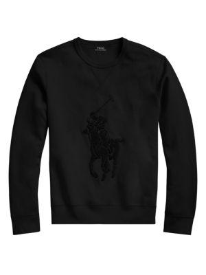 Polo Ralph Lauren Knitwear Double Knit Tech Sweatshirt