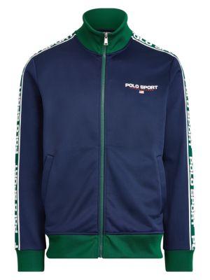 Polo Ralph Lauren Jackets Fleece Zip-Front Track Jacket
