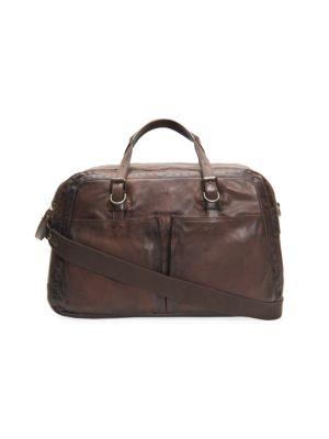 Frye Bags Murray Leather Duffel Bag