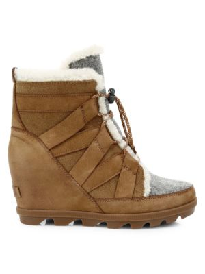 1f38a37820d Ugg - Women's Fluff Mini Quilted Suede and Shearling Boots - saks.com