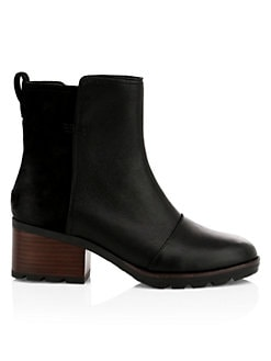 7c3ff651309 Product image. QUICK VIEW. Sorel. Cate Waterproof Leather Booties