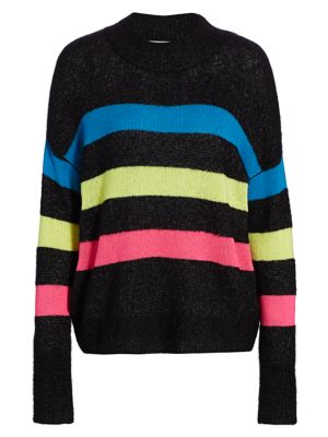 Rails Elise Cashmere Silk Stripe Sweater