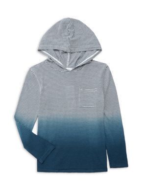 Splendid Little Boy S Striped Dip Dye Hoodie