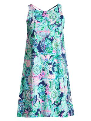 Lilly Pulitzer Kristen Printed Cotton Swing Dress