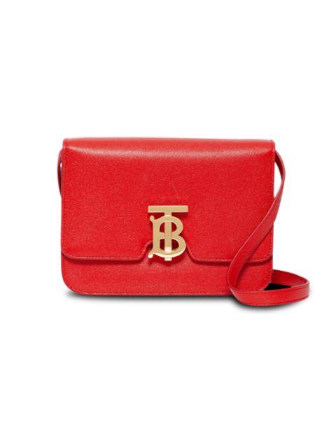 Burberry Small TB Leather Crossbody Bag | SaksFifthAvenue
