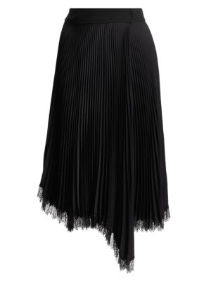A L C Adele Lace Trim Skirt