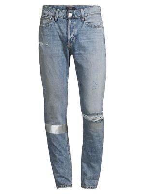 Hudson Men's Axl Distressed Skinny Jeans In Indigo