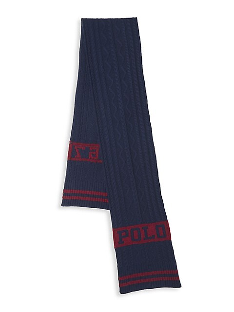 St. Andrew Polo 1967 Aran Scarf