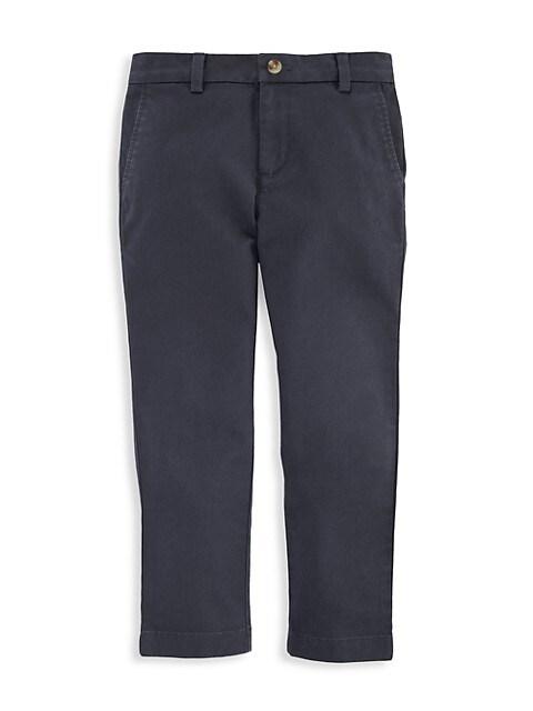 Little Boy's & Boy's Breaker Stretch-Cotton Pants
