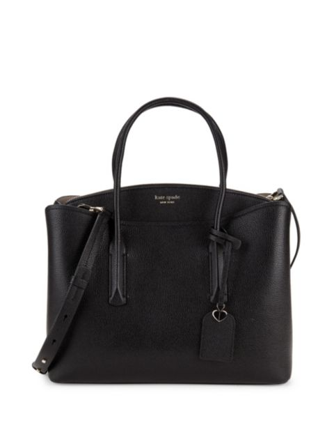 Kate Spade New York Large Margaux Leather Satchel | SaksFifthAvenue