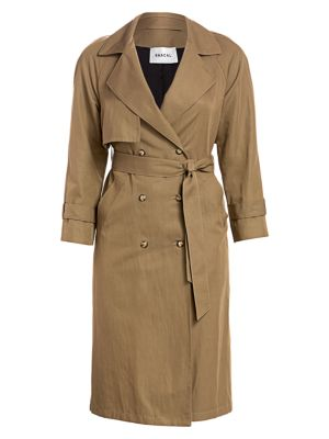 0510c5d7fb Baacal - Classic Cotton Twill Trench Coat - saks.com