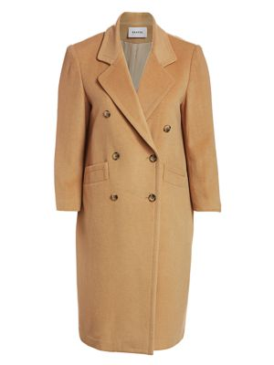 Baacal, Plus Size Davis Double Breasted Car Coat