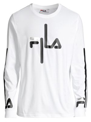Fila Basic T Shirt With Logo Detail & Color Block
