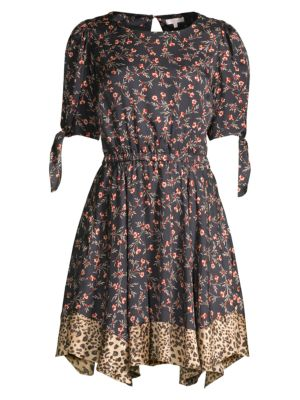 Rebecca Taylor Lia Floral Dress