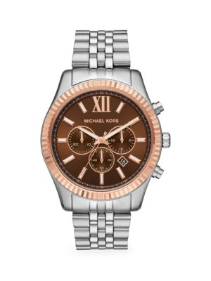 Excellent Michael Kors Dylan Stainless Steel Bracelet Chronograph Gamerscity Chair Design For Home Gamerscityorg