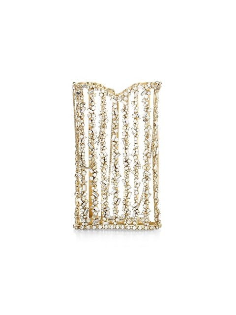 Oasis Crystal-Embellished Crossbody Pouch