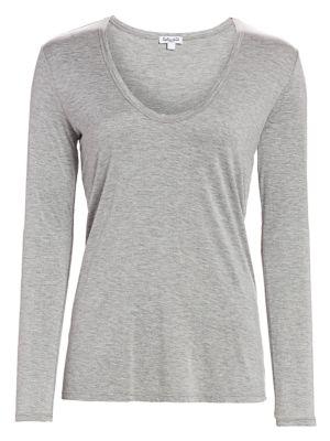 Splendid T-shirts Long-Sleeve T-Shirt