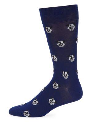 Paul Smith Men's Doggo Socks In Navy
