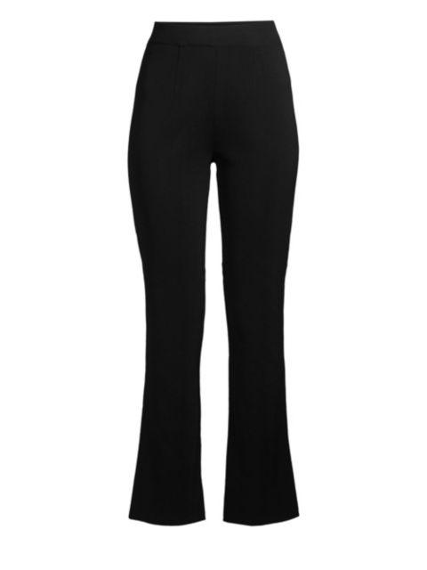 Misook High-Rise Boot-Cut Pants | SaksFifthAvenue