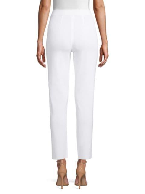 Misook Slim High-Rise Pants | SaksFifthAvenue