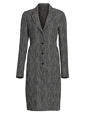 Jamson Plaid Coat by Rt A