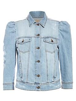 Women's Apparel - Coats & Jackets - Denim Jackets - saks com