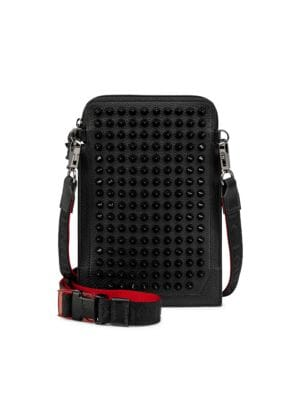Christian Louboutin Loubilab Spiked Leather Case