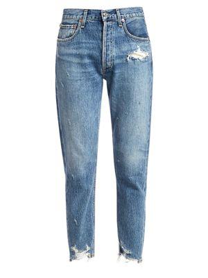Agolde Jaime High Rise Ankle Jeans