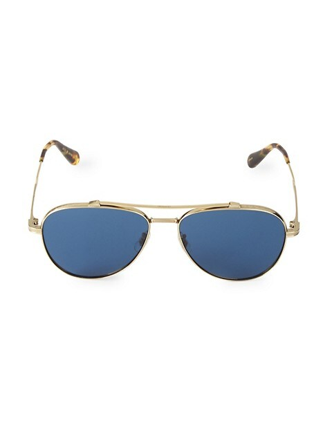 Rikson 56MM Aviator Sunglasses