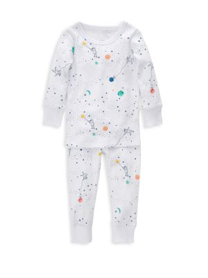 Aden Anais Baby S Orbit Two Piece Cotton Pajama Set