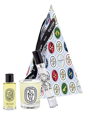 Do Son & Tuberose 3 Piece Cone Ornament by Diptyque