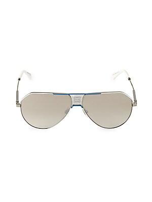 Givenchy 61MM Mirrored Aviator Sunglasses
