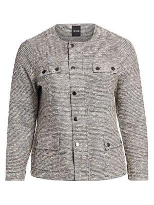 NIC+ZOE, Plus Size Plus The Ritz Jacket