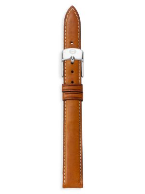 Michele Watches Women's Leather Watch Strap/14mm In Saddle