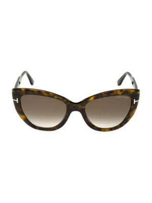 Tom Ford 55mm Anya Cat Eye Sunglasses