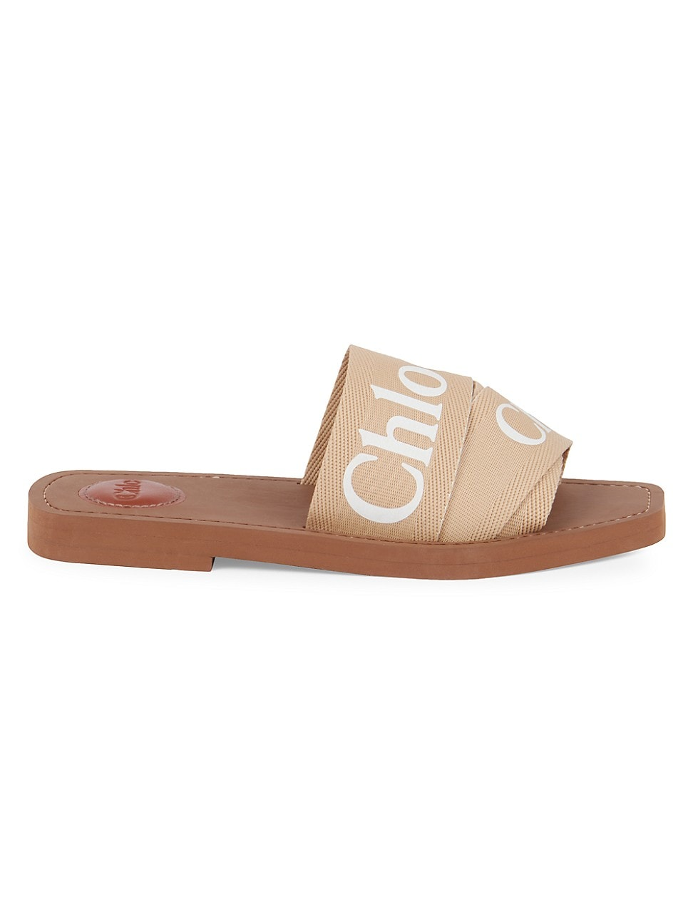 Chloé WOMEN'S WOODY FLAT SANDALS