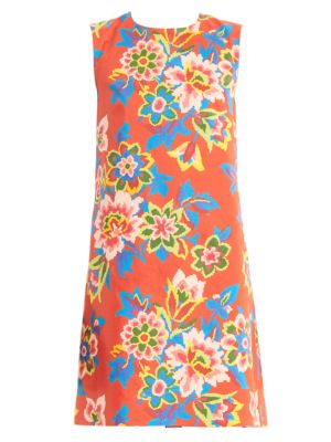 Carolina Herrera Dresses Sleeveless Floral Shift Dress