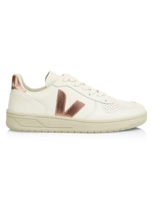Veja V 10 Leather | Multicolore | Baskets | VXW021547