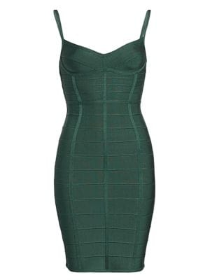 Herve Leger Bandage Dress With Boning