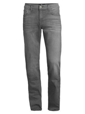 7 For All Mankind Slimmy Slim-straight Fit Jeans In Mystique
