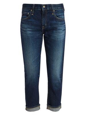Ag Jeans Ex Boyfriend Slim Fit Crop Cuff Jeans